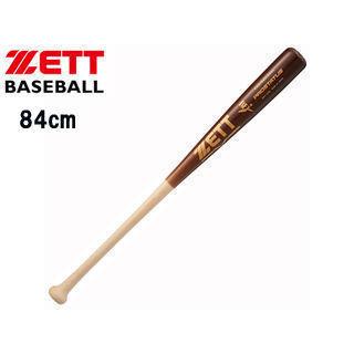 ZETT/ゼット BWT14784-1237M 硬式木製バット プロステイタス 【84cm890g平均】 (ナチュラル×薄ダーク)