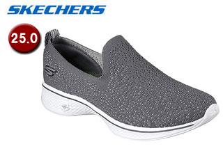 SKECHERS/スケッチャーズ 14918-CHAR GOWALK 4 - GIFTED ウィメンズ 【25.0】(CHARCOAL)
