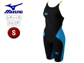 mizuno/ミズノ N2MG620292 レディースハーフスーツ GX-SONICIII MR 【S】 (ブラック×ブルー)