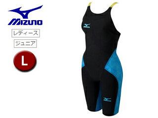 mizuno/ミズノ N2MG620292 レディースハーフスーツ GX-SONICIII MR 【L】 (ブラック×ブルー)