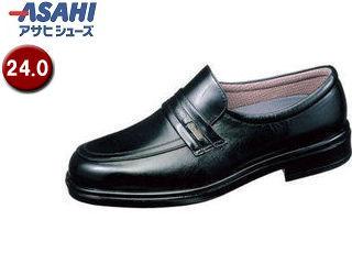 ASAHI/アサヒシューズ AM31261 TK31-26 通勤快足 メンズ・ビジネスシューズ【24.0cm・4E】 (ブラック)