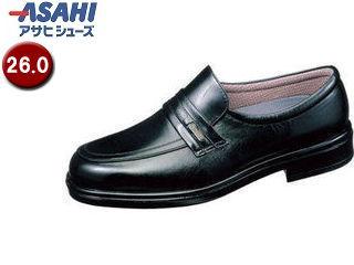 ASAHI/アサヒシューズ AM31261 TK31-26 通勤快足 メンズ・ビジネスシューズ【26.0cm・4E】 (ブラック)