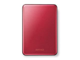 バッファロー アルミ&スリム USB3.0対応ポータブルハードディスク 1TB HD-PUS1.0U3-RC レッド