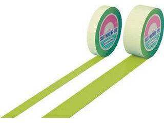 J.G.C./日本緑十字社 ガードテープ(ラインテープ) 若草色 50mm幅×100m 屋内用 148066