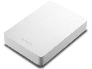 バッファロー 耐衝撃対応 USB3.1(Gen1)/USB3.0用 ポータブルHDD 2TB ホワイト HD-PNF2.0U3-GWE