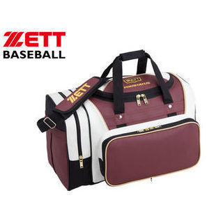 ZETT/ゼット BAP617-6011 プロステイタス ミドルバッグ (エンジ2×ホワイト)