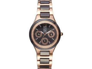 クリオブルー クリオブルー レディース腕時計 ブラック  W-CLL15228BK