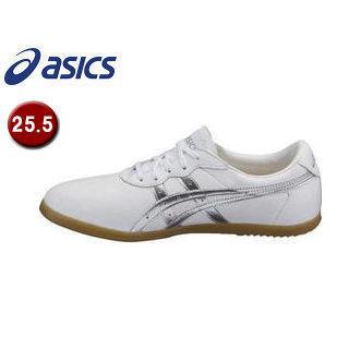 asics/アシックス TOW013-0193 ウーシュー WU 【25.5】 (ホワイト×シルバー)
