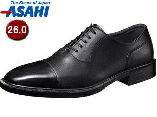 ASAHI/アサヒシューズ AM33091 TK33-09 通勤快足 メンズ・ビジネスシューズ 【26.0cm・3E】 (ブラック)