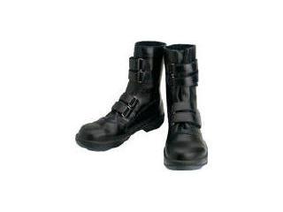 革製の Simon/シモン 安全靴 マジック式 8538黒 25.0cm/8538N-25.0(8538-250)
