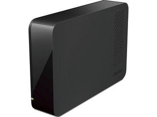 バッファロー 24時間連続録画対応 USB3.1(Gen1)/USB3.0対応 外付けHDD 2TB ブラック HD-LL2.0U3-BKF