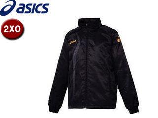 asics/アシックス XAW150-9091 ジャムジーAS2ブレーカージャケット【2XO】 (ブラック×カーボン)