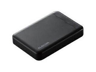 ELECOM/エレコム ビデオカメラ向けポータブルハードディスク 500GB ELP-EDV005UBK