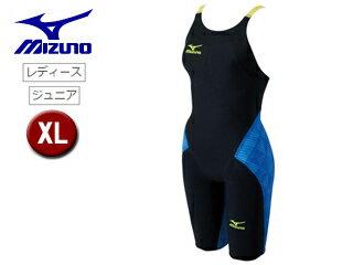 mizuno/ミズノ N2MG6201-92 レディースハーフスーツ GX-SONICIII ST 【XL】 (ブラック×ブルー)
