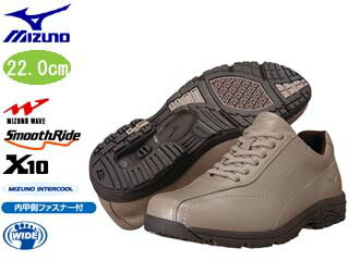 �nightsale】 mizuno/ミズノ 5KF350-49 LD40 III レディースウォーキングシューズ (パールベージュ) �22.0cm】