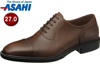ASAHI/アサヒシューズ AM33092 TK33-09 通勤快足 メンズ・ビジネスシューズ 【27.0cm・3E】 (ブラウン)