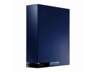 I・O DATA/アイ・オー・データ ネットワーク接続ハードディスク(NAS) 1TB スタンダードモデル HDL-T1NV ミレニアム群青