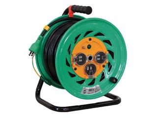 NICHIDO/日動工業 電工ドラム 防雨防塵型100Vドラム アース付 30m/FW-E33 (タンソウ100V)(アースツキ)