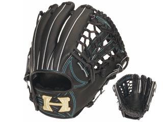 HI-GOLD/ハイゴールド KKG-1145 硬式グラブ三塁手・オールポジション用 心極和牛 (ブラック) 【左投げ用】