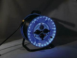NICHIDO/日動工業 防雨型電工ドラム LEDラインドラム 青 NPWLEB33B
