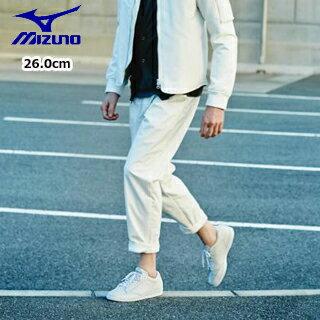 【クリアランススタート!】 mizuno/ミズノ D1GA1616-01 スニーカー スポーツスタイル MIZUNO SD84 【26.0】 (ホワイト)