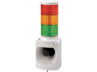 PATLITE/パトライト LED積層信号灯付き電子音報知器 LKEH302FARYG