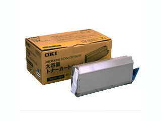 OKI/沖データ TNR-C1-06Y トナーカートリッジ 大容量トナー イエロー ML-3010C用