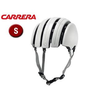 CARRERA/カレラ FOLDABLE BASIC シティバイクヘルメット 【Sサイズ(XS/S)】 (Shiny White)