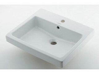 KAKUDAI/カクダイ DU-0315550030 角型洗面器 (3ホール)