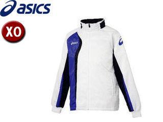 asics/アシックス XAW150-0152 ジャムジーAS2ブレーカージャケット【XO】 (ホワイト×ダークネイビー)
