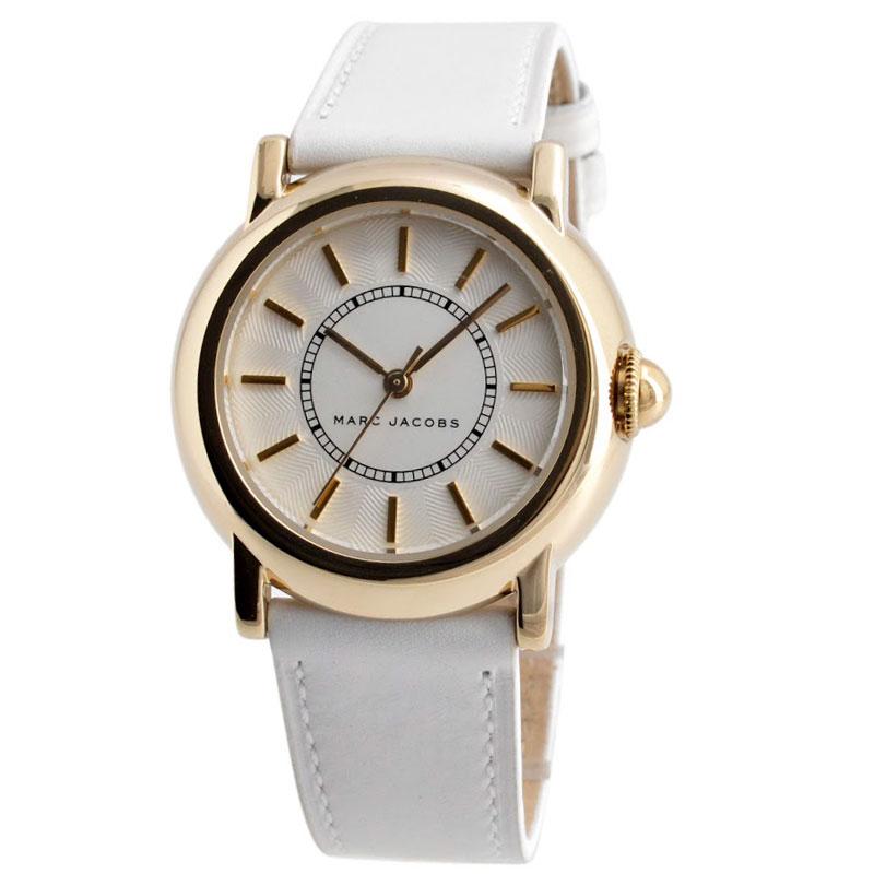 【送料無料】マークジェイコブス 時計 MARC JACOBS 腕時計 レディース MJ1449 COURTNEY コートニー シルバー×ゴールド×ホワイト【あす楽対応】【RCP】【プレゼント】【ブランド】【セール】