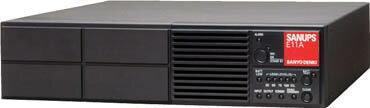 【直送】【代引不可】UPS本体(2KVA(1.4KW)5分 AC200-240V) E11A202B002UJ SANUPS(山洋電気)