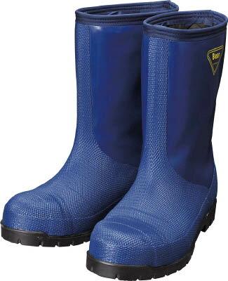 冷蔵庫用長靴-40℃ 24.0cm ネイビー NR021-24.0 シバタ工業
