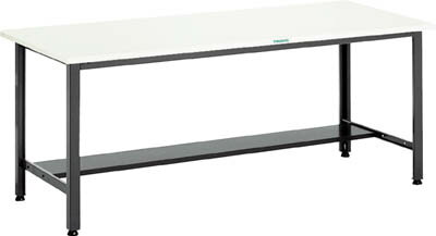 【直送】【代引不可】中量500kg作業台 鉄天板 1800×750 AEWS-1875 TRUSCO(トラスコ)