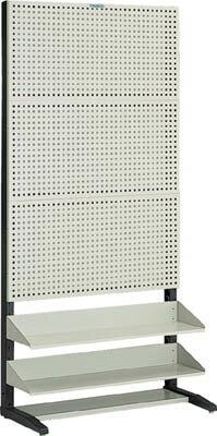 【直送】【代引不可】パンチングラック 棚板付タイプ 片面 UPR-3002 TRUSCO(トラスコ)