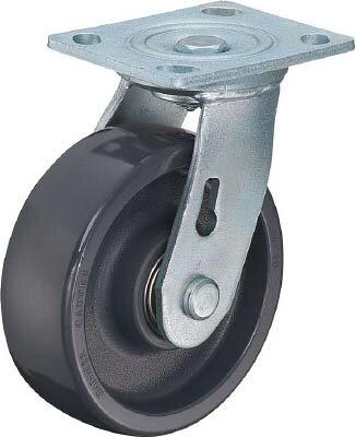 多機能キャスター(特殊樹脂車輪) 150mm 500BPS-HBN150-BAR01 ハンマーキャスター