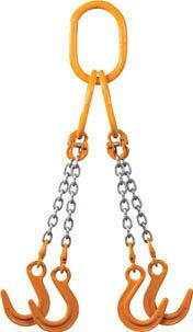 チェーンスリング100(アイタイプ) ファンドリーフック4本吊り 4.1t 4-TG-YN-7.1 象印