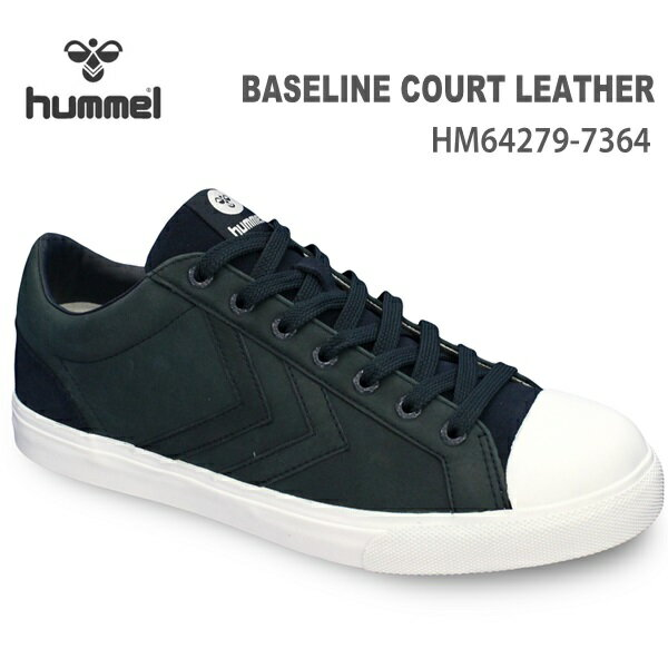 ヒュンメル スニーカーhummel BASELINE COURT LEATHERHM64279-7364 T.ECLIPSE