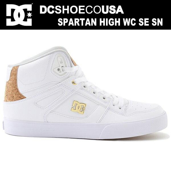 DC スニーカー ハイカット メンズ レディースDC SHOES SPARTAN HIGH WC SE SN DM172018 WGD 靴