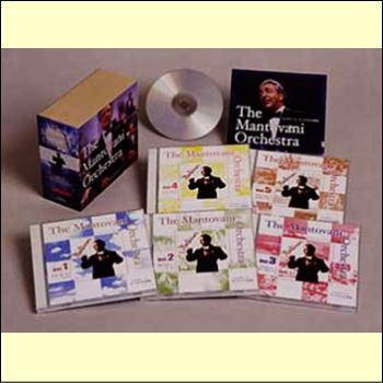 【宅配便通常送料・代引手数料0円】マントヴァーニ・オーケストラの世界(CD)