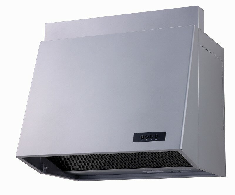 高須産業(TSK) レンジフード 25cmプロペラファン換気扇タイプ(90cm) 電気式シャッター 排気 シルバー WAP-91A(G)