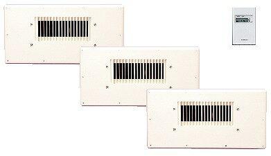 高須産業(TSK) 床下/天井裏換気扇 基本セット(1ケース) TF-310S