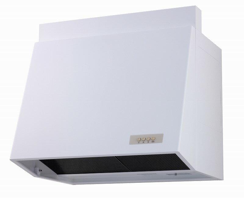 高須産業(TSK) レンジフード 25cmプロペラファン換気扇タイプ(90cm) 電気式シャッター 排気 ホワイト WAP-91A(W)