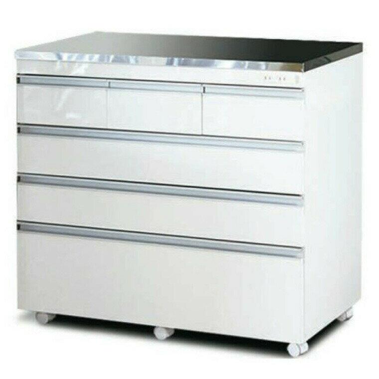 クール cool キッチンカウンター 900S W905×D436×H850mm 【協栄産業】【送料無料】