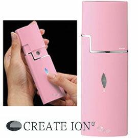 【CREATE ION クレイツイオン】 エナヴィータミニ 潤霧(うるむ) いつでもどこでも6ミクロンの潤いが補給できるクレイツイオンスチーマー。