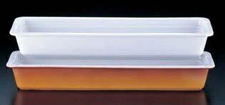 ロイヤル陶器製 角ガストロノームパン PB625-24 2/4 ホワイト 6-1490-1201 5-1350-1501【卓上用品 備品 飲食店 キッチン用品 キッチン 業務用 特価 新品 格安 楽天 販売 通販】[10P03Dec16]