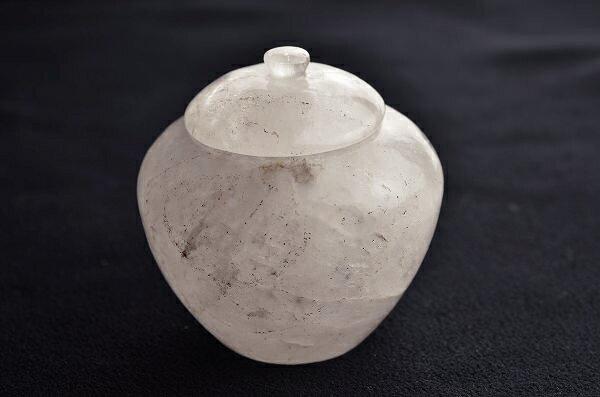 舎利容器(水晶)f