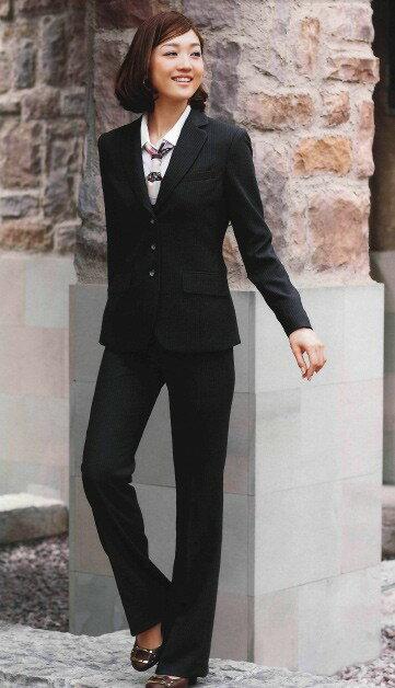 SA130P パンツ 神馬本店(selectstage)事務服・制服【メーカーカタログより40%OFF】5号~19号 ポリエステル98%・ナイロン2%