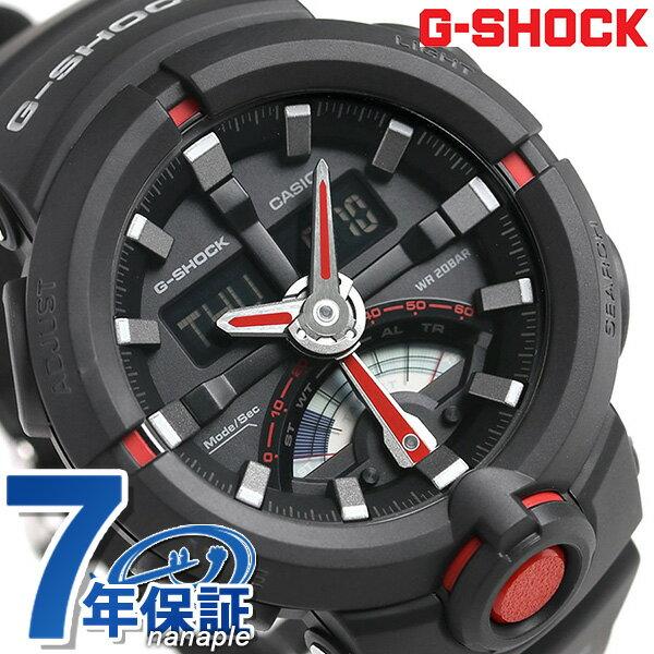 G-SHOCK ベーシック レトログラード 腕時計 GA-500-1A4DR カシオ Gショック オールブラック