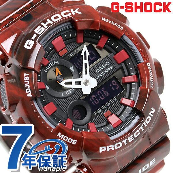 G-SHOCK Gライド クオーツ メンズ 腕時計 GAX-100MB-4ADR カシオ Gショック ブラック
